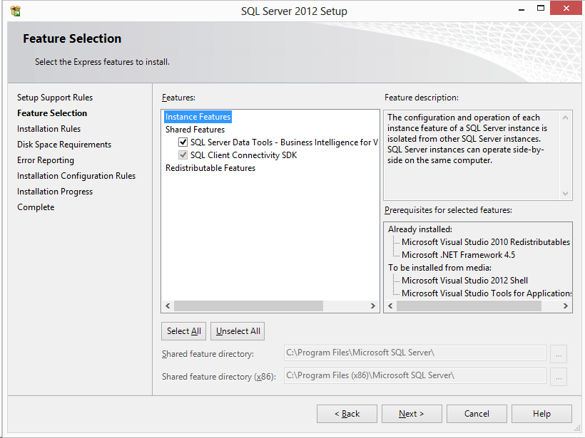 Business intelligence projects sqlxpertise now you can see the business intelligence project templates in visual studio 2012 flashek Gallery
